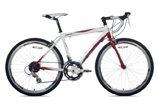 Giordano Libero 1.6 Road Bike 24-Inch White/Red [並行輸入品] B072Z7132J