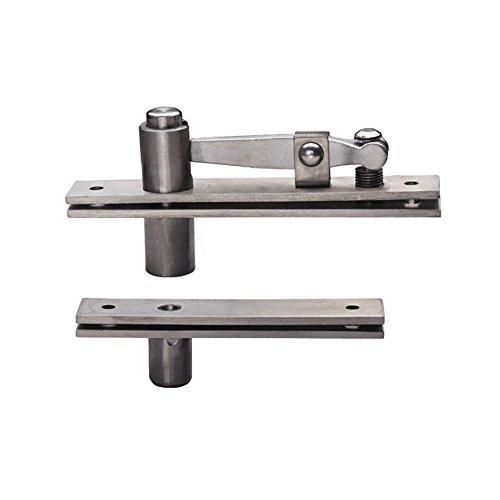 (T&B Door Pivot Hinges Heavy Duty Hinges for Wood Doors 360 Degree Shaft Stainless Steel Murphy Door Pivot Hinge System )