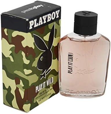 Profumo Uomo Play It Wild Men Playboy EDT (100 ml): Amazon