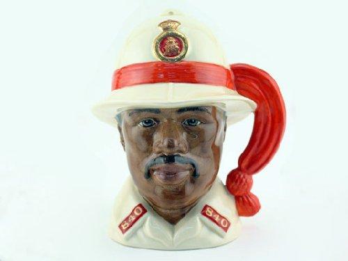 Doulton Large Character Jug - Royal Doulton Bahamas Policeman Large D6912 Character Jug