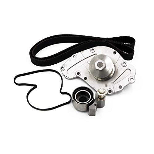Timing Belt GMB Water Pump Kit Tensioner and Idler Pulley Pump For 05-10 Chrysler Dodge Challenger 3.5/4.0L SOHC (As Shown)
