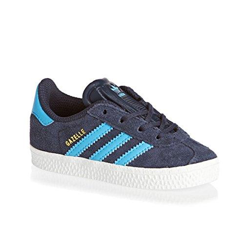 Bambino marino Gazelle azul 2 Unisex Scarpe CF Sportive I adidas 0UxBRwqw