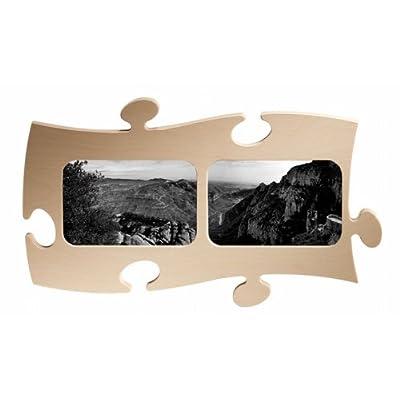 Country Living Cornice A Forma Di Puzzle Per 2 Foto 10 X 15 Cm Colore Naturale