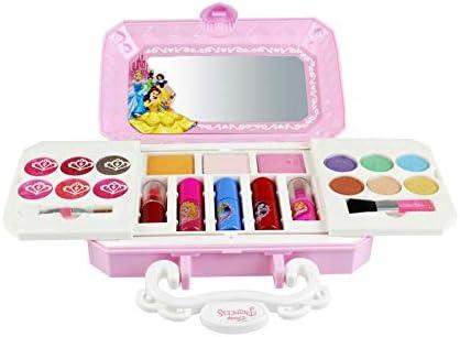 23 PCS set de maquillaje maquillaje niñas Makeup Set de disney For kids Children set con espejo kit cosmético portátil paleta maquillaje lavable ...