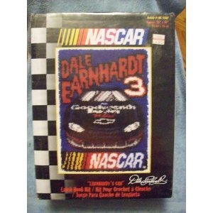 Caron Nascar Earnhardt's Car Latch Hook Kit