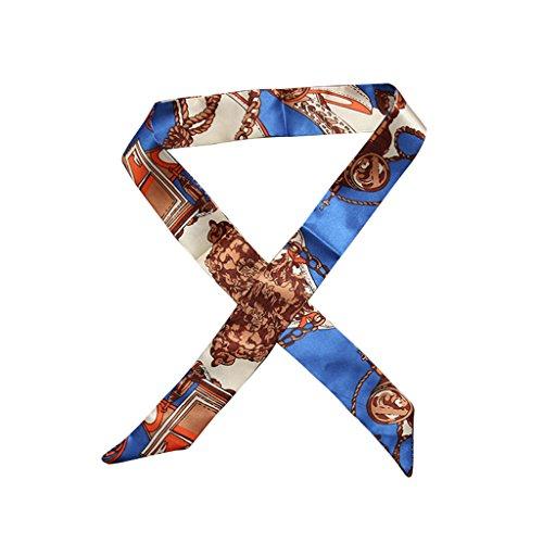 Bag Twilly Multi A14 Silk Regalo Wrap Head Wrist Dabixx Band A15 Scarf Use Pajarita Cinta Faux zXqxZfdwf