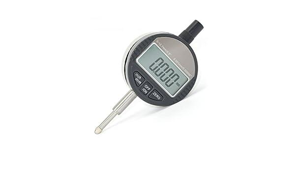 ueetek Digital Reloj comparador digital Calibre Onde - Reloj de medición (Rango de medición 0 - 12,7 mm Reloj comparador de pantalla electrónica pantalla ...