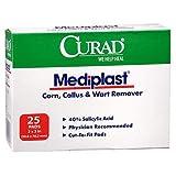 Curad Mediplast Pads 2'' x 3'' 25 ea