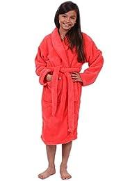 df55a0be00 Girls Ultra Soft Plush Bathrobe Made in Turkey