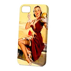 Case Fun For Ipod Touch 4 Case CoverVogue Version - 3D Full Wrap - Jill Needs Jack Pin Up Girl