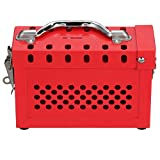 Panduit PSL-GLBN Group Lock Box, Red