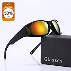 No seasonality - Safety & Comfort It's designed to protect your safety while outdoors. They are UV-resistant, scratch-resistant, bump-proof, anti-glare, dust-proof, waterproof and highly transparent. The ultra-light weight allows you to f...