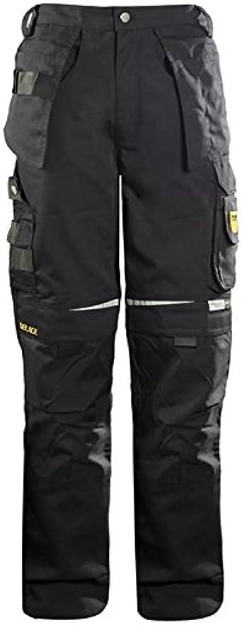 Amazon Com Dblade Pantalones De Trabajo Multibolsillos Para Hombre Color Negro Xl Clothing