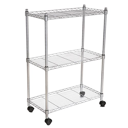 wire cart on wheels - 9