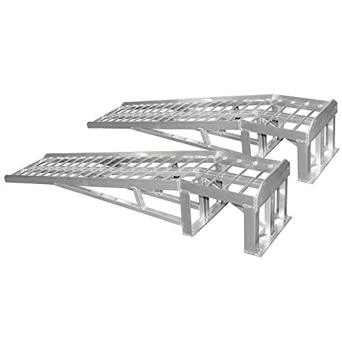 Rage Powersports ML-1066 Sports Car Lift Service Ramp (66' Low Profile) Car Display Ramps