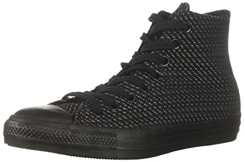 Converse Women's Chuck Taylor All Star High Top Sneaker, Black, 10 M - High Black Top Patent