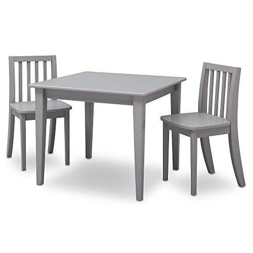 Brand New Grey Next Steps Table and 2 Chairs Set GUARANTEED QUALITY