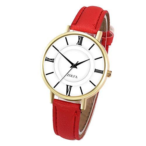 Smartey Simple Multicolor Rose Gold Lovers Quartz Watch -