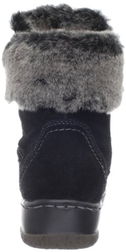 Black Fur Sporty Blondo Faux Suede Ankle Margueritte Women's 8zygwaq