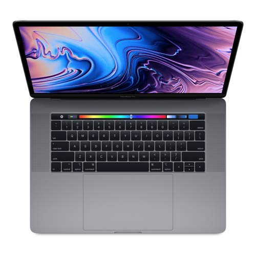 "Apple MacBook Pro (15"" Retina, Touch Bar, 2.4GHz 8-Core Intel Core i9, 32GB RAM, 1TB SSD, Vega 20 Graphics) - Space Gray (Latest Model)"