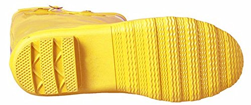 Forever Young - Womens Wellie Rain Boot, Yellow Gold 37279-7B(M)US
