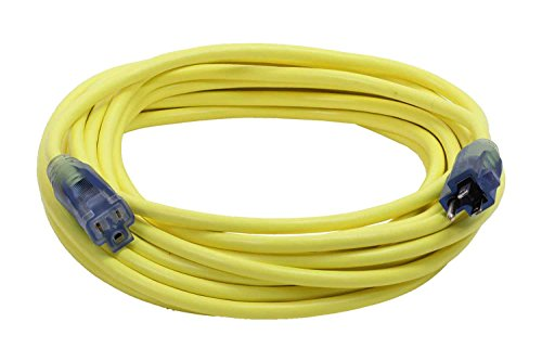 Milspec Direct 100-Foot 10/3 Yellow Pro Glo Extension Cor...