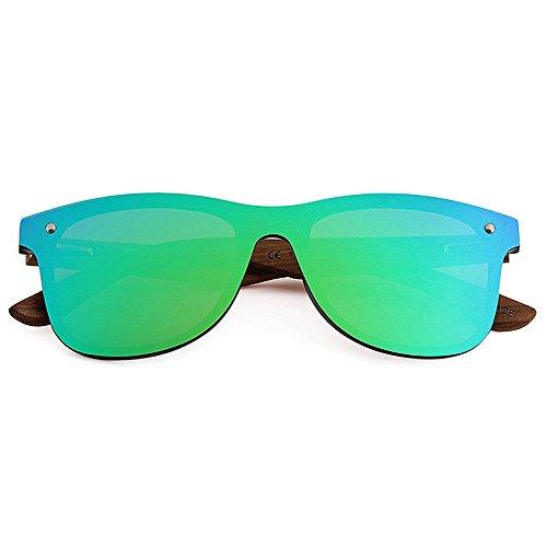 De Pièce Hommes Yeux PC Jambe Personnalité UV400 Silver Couleur Bois Objectif Polarisées Lunettes Style Une Conduite Chat Cadre Protection Soleil TAC Green GWF xI8YCqY