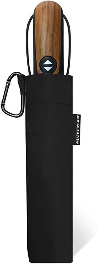 Amazon.com | Weatherproof 56 Inch Auto Open and Close Golf Umbrella, Black, One Size | Umbrellas