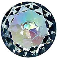Tripact 100 mm Translucent Rainbow Diamond Shaped Jewel Crystal Paperweight - 05