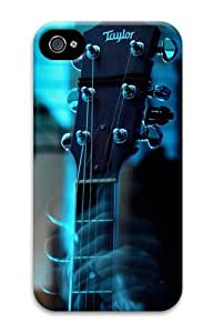 iPhone 4S Case, iPhone 4S Cases - Guitar head Polycarbonate Hard Case Cover for iPhone 4/4S