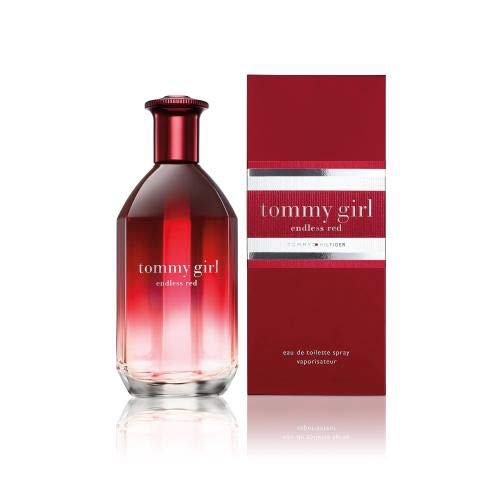 TOMMY HILFIGER Tommy Girl Endless Red EDT SP for Women, 3.4 Fluid Ounce