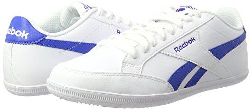 Bs7001 Homme Baskets Vital Bleu blanc Pour Blanc Reebok dqtnSWacd