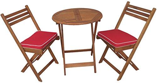 Wood Bistro Set - 5