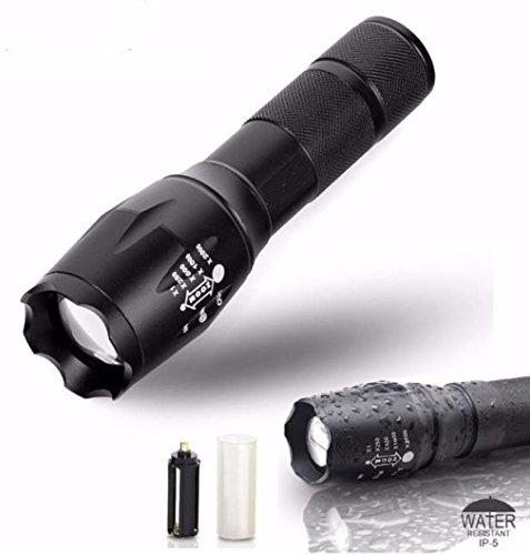 Microstream High Powered Led Penlight (Tactical LED Flashlight G700 SkyWolfeye X800 Zoom Super Bright Military Grade By AudacitY)