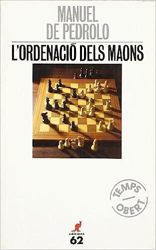 Lordenació dels maons.: (Temps obert 7) (El Cangur): Amazon.es: Pedrolo, Manuel de: Libros