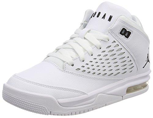 Nike Jordan Flight Origin 4 BG, Zapatos de Baloncesto Para Niñas Blanco (White/black 100)