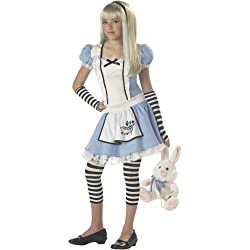 Alice in Wonderland Tween Costume - Large