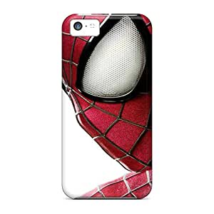Awesome Spider Man 2 Flip Case With Fashion Design For Iphone 5c by supermalls