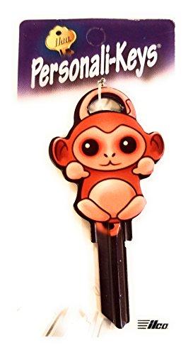 (Ilco Monkey Shape Personali-Key SC1 Key Blank)