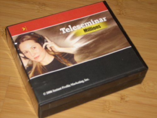 TELESEMINAR MILLIONS - 16 Cd set - Everything you need by Instant Profits Marketing - Includes:How to Edit Audio, Small Business Direct Marketing, Transcripts Data, Joint Ventures (4 CDs!) plus JV Data CD and Forms Disc. All in orig clamshell case.