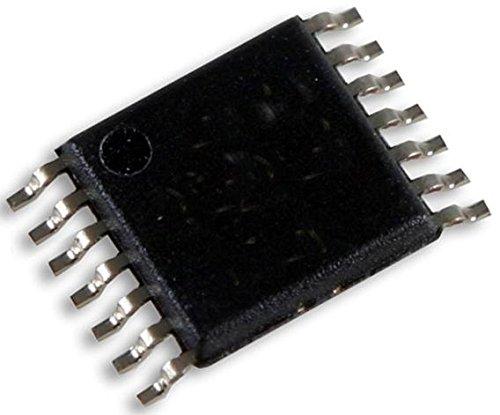 Maxim Integrated Products MAX44245AUD+T Operational Amplifier, 4 Amplifier, 1 MHz, 0.7 V/?s, ¡À 1.35V to ¡À 18V, 2.7V to 36V, TSSOP, 14 Pins