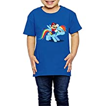 NINJOE 2-6 Years Youth Classic My Little Pony T-shirt RoyalBlue