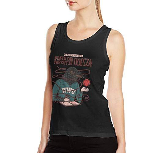 Death Cab for Cutie Women Tank Top Art Vest L Black ()
