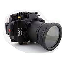 Polaroid SLR Dive Rated Waterproof Underwater Housing Case For The Canon 5D Mark 3 Camera with a 24-105mm Lens