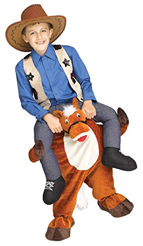 Child Carry me Horse
