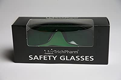 Grow Room Glasses, New, LED Safety Glasses, Color Correcting Goggles, Protective Eyewear, Indoor LED Grow Rooms, Hydroponics, Grow Tent