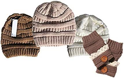 Thick Chunky Beanie Soft Knit Unisex Skully Cozy Assorted Caps