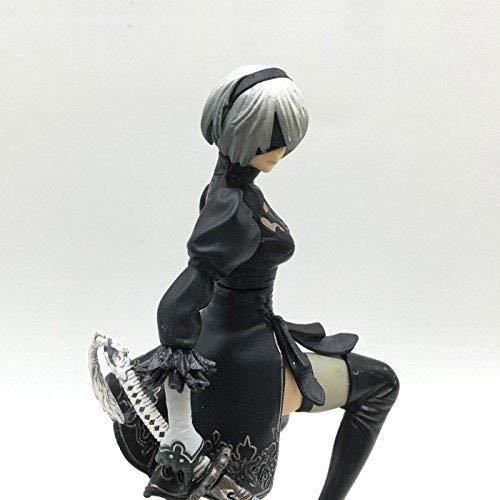 Statue 6 2 Type B,2B PVC Collectible Figure Automata Yorha No CMCC NieR