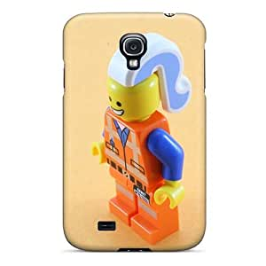 Samsung Galaxy S4 EeV7615zeUt Custom Colorful The Lego Movie Image Shockproof Hard Phone Case -MansourMurray