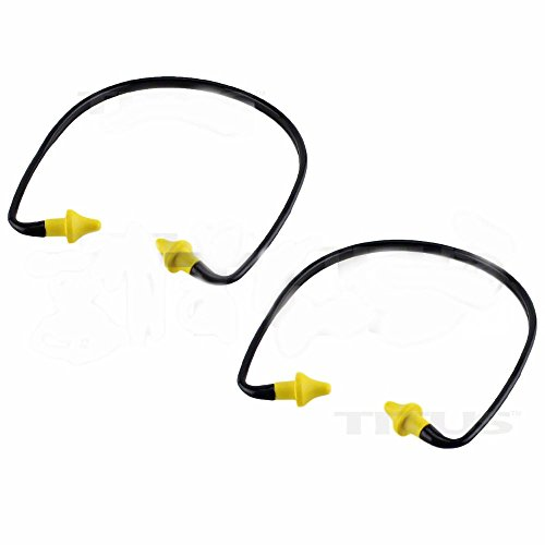 2 PACK EAR PLUGS NECK BAND SHOOTING FIRING RANGE HEARING NOISE SOUND PROTECTION by Unknown (Image #2)